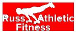 russ athletic logo white