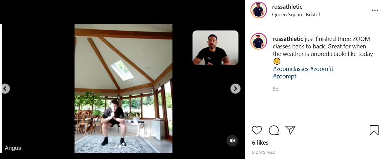 zoom fitness classes
